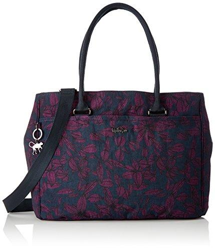 Kipling Artego, Women's Laptop Bag, Mehrfarbig (Orchid Bloom), 39x28.5x15 cm (B x H T)