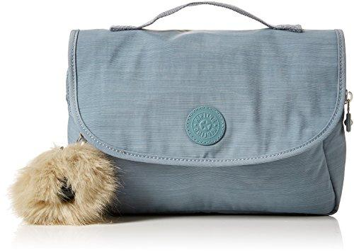 Kipling DOLORES N Toiletry Bag, 26 cm, 3.5 liters, Blue (Dazz Soft Aloe)