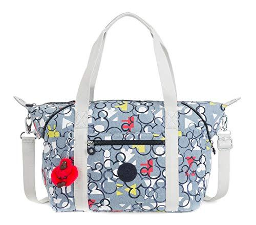 kipling Mickey Plus Eyes Wide Open D Art medium Tote Threecheer