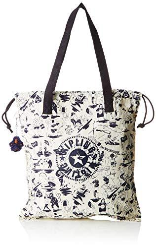Kipling New Hiphurray, Women's Tote, Multicolour (Colab Print)