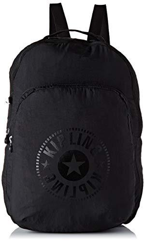 Kipling PACKABLE BAGS School Backpack, 44 cm, 22.5 liters, Black (Black Light)