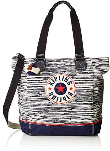 Kipling Shopper C, Women's Tote, Multicolour (Scribble L Bl)