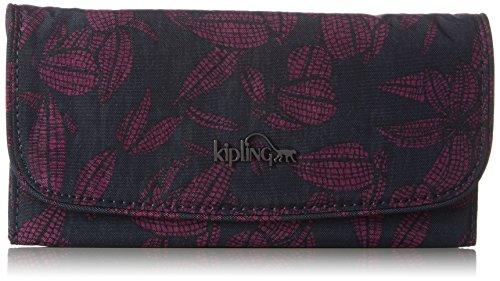 Kipling Women's Supermoney Wallet 20 x 10 x 3 cm Multicolour Mehrfarbig (Orchid Bloom)