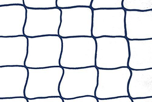Konege 1 Pair Indoor Hockey Nets 3.0 m x 2.0 m, 4,5 cm, Cord 4 mm Assorted Colours, blue