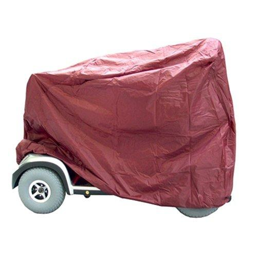 Kozee Komforts Waterproof Outdoor Storage Indoor Dust Cover for Large Mobility Scooter - Maroon