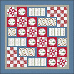 Kris Lammers Christmas Joys Flannel Santa's Stocking Fillers Quilt Kit Maywood Studio