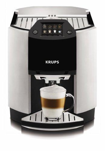 Krups EA 9010 Freestanding Fully Automatic Espresso Machine 1.7L 12Tazas Black, Silver – Coffee (Freestanding, Espresso Machine, 1.7 L, Coffee Beans, Ground Coffee, Integrated Grinder, Black, Silver)