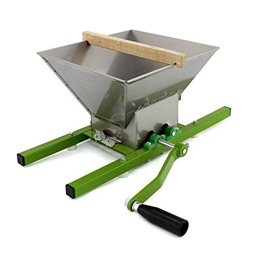 KuKoo 7 Litre Fruit Crusher / Portable Pulper Manual Shredder / Apple Scratter Cider Wine Juice