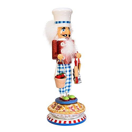"Kurt Adler 17"" Hollywood Apple Pie Baker Nutcracker"