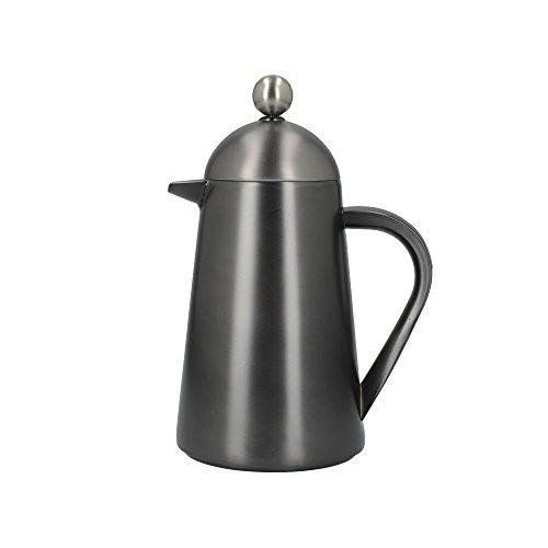 La Cafetière Edited Thermique Insulated Cafetière/French Press Coffee Maker, 350 ml (3 Cup) - Gun Metal