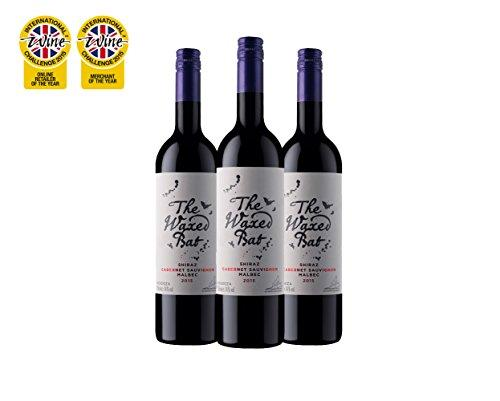 Laithwaites Wine - Waxed Bat Cabernet Shiraz Malbec (Case of 3)