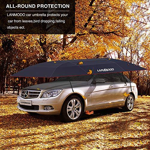 Lanmodo Car Tent Automatic Car Umbrella Tent Also Can Be Popup Tent