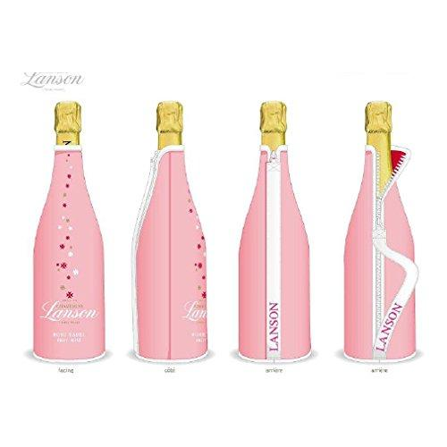 Lanson Rose Label Brut Champagne in Neoprene Sleeve