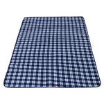 Large Picnic Blanket Mat with Waterproof Backing Portable Folding Beach Rug for Outdoor Garden Camping Hiking Travelling Tartan Carpet(Size : 200 * 150cm) (Color : B)