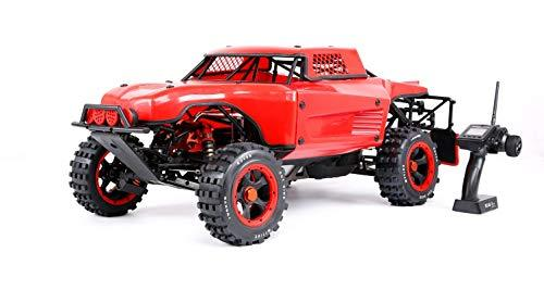 Large Scale Remote Car Rock Crawler Muzili-1: 5 36cc Single Cylinder air-Cooled Two-Stroke Four-Point Fixed Gasoline Engine (Standard Walbro1107 Carburetor, NGK Spark Plug Size: 1000mmX480mmX430mm)