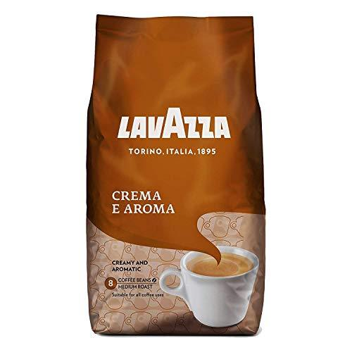 Lavazza Crema Aroma (Brown) Coffee Beans 1kg (3 Bags)