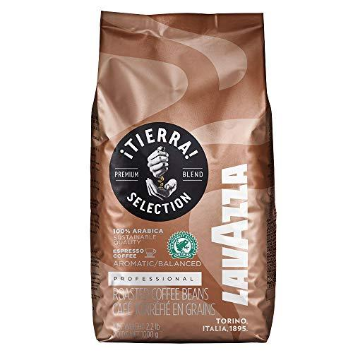Lavazza Tierra Intenso Coffee Beans 1kg x 3 + 50 Lotus Biscuits Value Pack (3 Bags + 50 Biscuits)