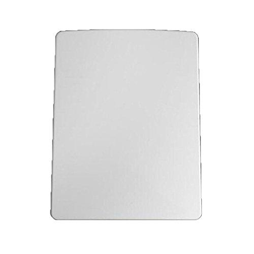 LDFN Universal Toilet Seat Square Drop Mute Antibacterial Urea-formaldehyde Top Mounted Toilet Lid,White-40-45*34.5CM
