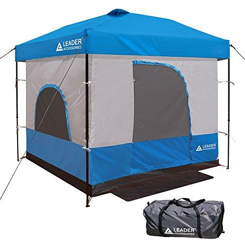 Leader Accessories Inner Tent for 10' x 10' Canopy, Blue (Inner Only, Frame and Top Not Included)