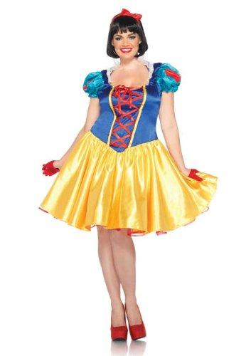 Leg Avenue Girls Plus Classic Disney Snow White Fancy dress costume 3X / 4X