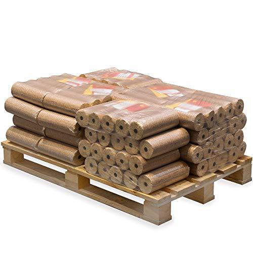 Lekto Hardwood Heat Logs Briquettes 240KG | Kiln Dried Fire Wood Alternative