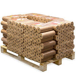 Lekto Hardwood Heat Logs Briquettes 480KG | Kiln Dried Fire Wood Alternative