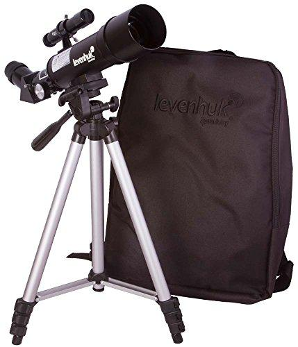 Levenhuk Skyline Portable Travel 50 Refractor Telescope with Backpack - Fully Multi-Coated Optics