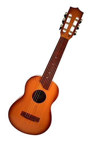 "Liberty Imports 6 String 27"" Classical Acoustic Guitar Toy for Kids with Tight Tunable Strings and Vibrant Sounds (Brown Wood Color)"