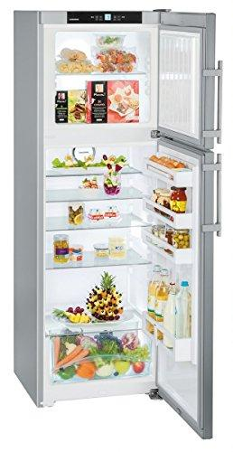 Liebherr ctpesf 3316 – 22 Freestanding Silver, Stainless Steel 232L 75L + + – Freestanding Fridge Freezer, Silver, Stainless Steel, Right, sn-st, High Post, 4 *)