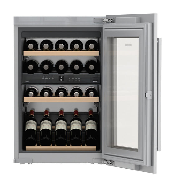 Liebherr ewtdf 1653 Integrated Compressor Wine Cooler Grey 30Bottle (S) A – Wine Cooler (Built-in, Grey, Grey, 4 Shelves, 1 Door (S), White)