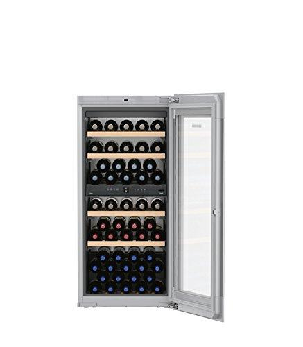 Liebherr ewtgw 2383 Integrated Compressor Wine Cooler Grey 51bottle (S) A – Wine Cooler (Built-in, Grey, Grey, 6 Shelves, 1 Door (S), White)