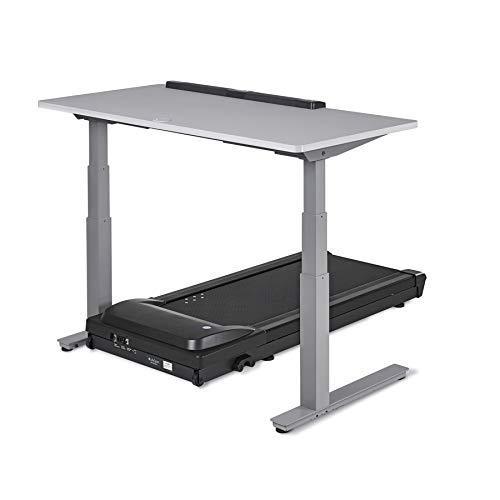 LifeSpan TR1200-DT7 Desk Treadmill and Standing Desk with Electric Ergonomic Height Adjust, Smart Tracking and More