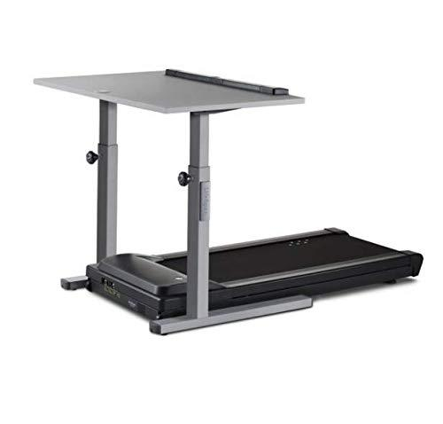 LifeSpan TR5000-DT5 Desk Treadmill and Standing Desk with Manual Ergonomic Height Adjust, Smart Tracking and More