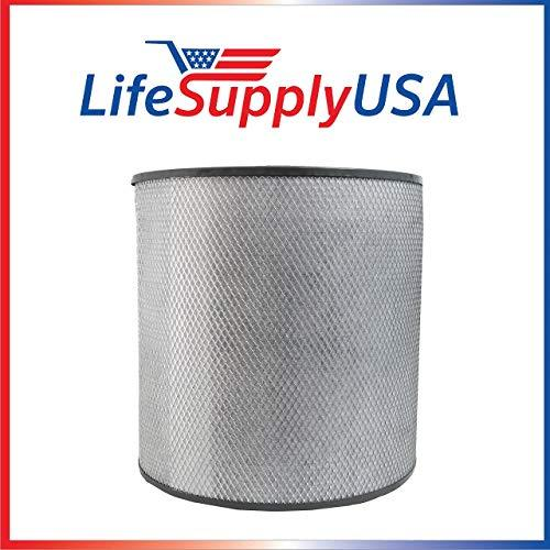LifeSupplyUSA 10 pack Replacement Filter for Austin Air HM 400 HealthMate HM-400 HM400 FR400 by