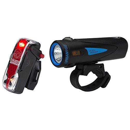 Light & Motion Urban 900 Commuter Combo Bike Light Kit