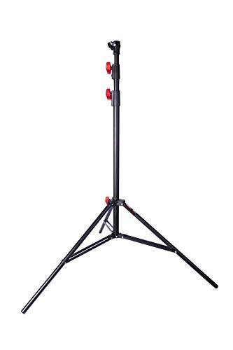 Light Stand Impact Air-Cushioned Heavy Duty Stand For Photography | Pneumatic Patented 2.65m 8.69ft Tripod Light Stand For Flash Strobes, Ring Lights, Umbrellas, Softbox, Reflectors and More