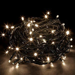 LightsGo® Kids Safe Low Voltage Warm White 500 LEDs 50M(164ft) Waterproof Outdoor Indoor Christmas Tree LED Fairy Lights with Extra 10M(33ft) Long Cable (500LED 50M, Warm White)