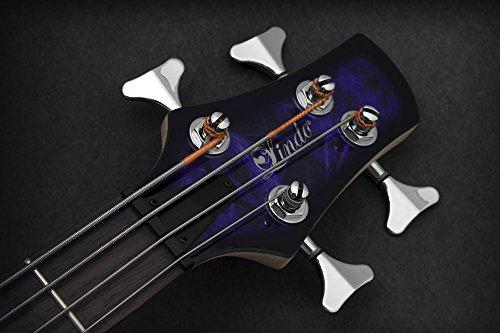 c682d8bef1 ... Lindo PDB Series Purple Dove Electric Bass Guitar With Carry Case and  Cable