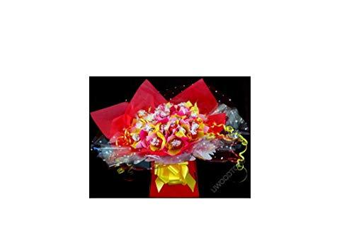 Lindt Lindor Chocolate Sweet Tree Bouquet ~ Personalised ~ Delivered in Patterned Gift Box
