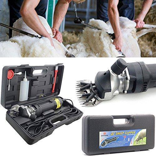 LINGJUN Sheep shear Hair Clippers Electric Handheld Professional Trimmer Shearing Machine Adjustable Speed 350W