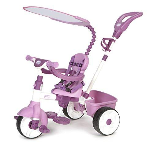 little tikes 4-in-1 Basic Edition Trike (6-9 Months, Pink)