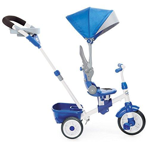 little tikes 4-in-1 Trike Ride On, Blue