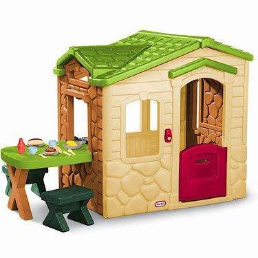 little tikes picnic on the patio playhouse natural - Little Tikes Picnic On The Patio Playhouse