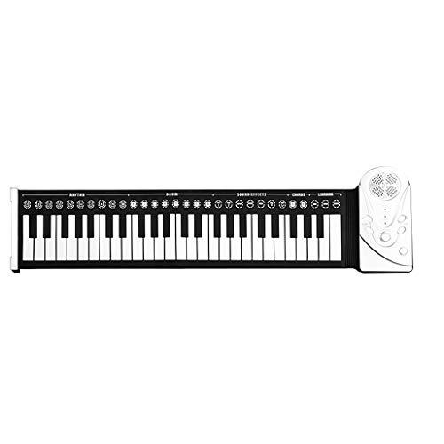 LIUFS Hand Roll Piano Portable Digital Folding Piano