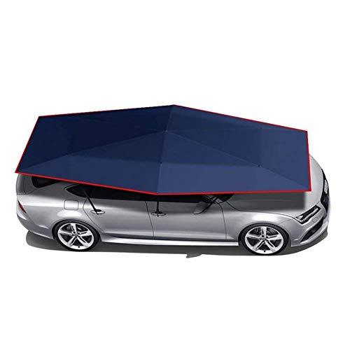 LMHX Car Roof Tent Semi-Automatic Foldable Rooftop Tent Carport with Remote Control Car Canopy