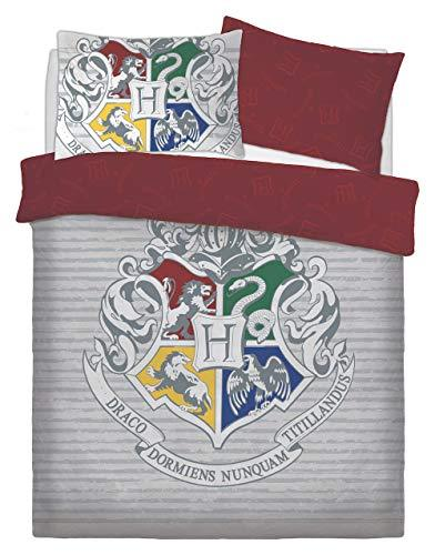 LnB Kids 3D Harry Potter Witchcraft Wizardy Duvet Covers Quilt Cover Bedding Set (Double, Multi)