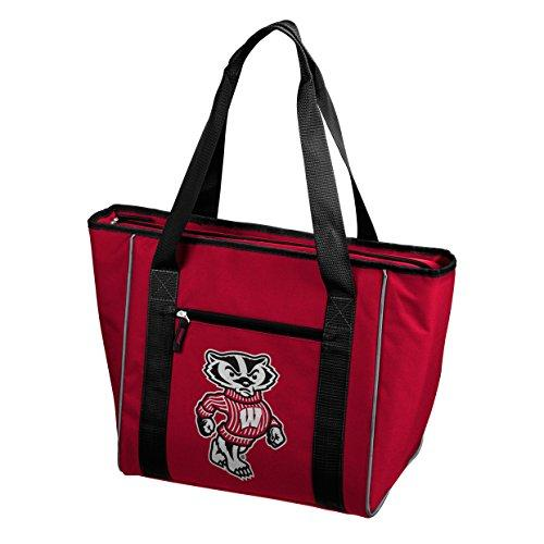 Logo Brands NCAA Wisconsin Badgers 30-Can Cooler Tote