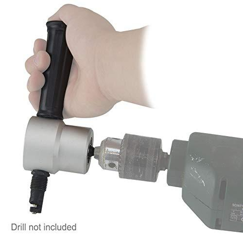 Longbow - Electric Drill Nibbler Attachment with Dual Head - Cuts up to 1.8mm steel