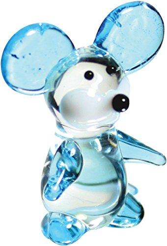Looking Glass 01007 Squeak the Mouse Miniature Glass Collectible (Pack of 48)