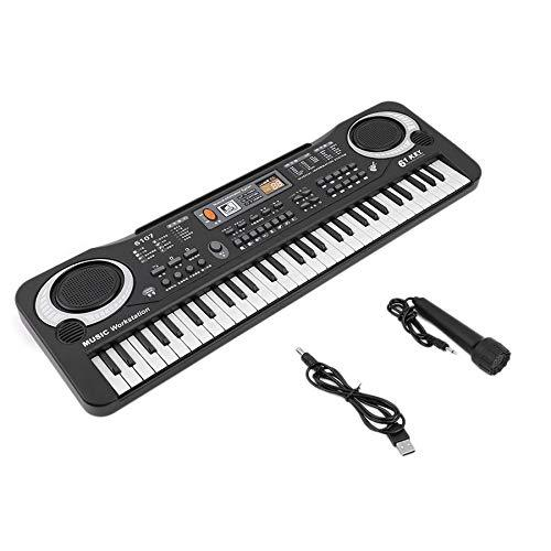 Lovelysunshiny 61 Keys Digital Music Electronic Keyboard Board Toy Gift Electric Piano